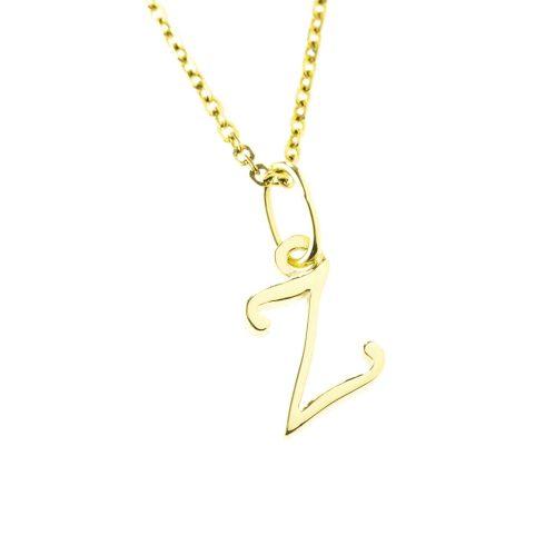 Arany Z-betűs medál (Au512030)