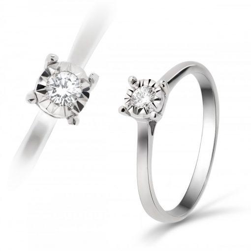 Arany Gyűrű BRILLEL (Au518001) Méret: 54