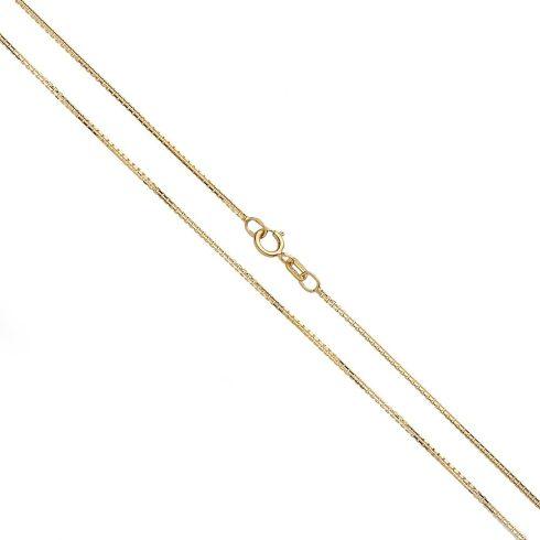 14K Arany Nyaklánc (Au520004) Méret: 55 cm