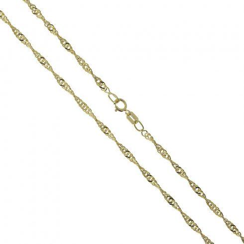 14K Arany Nyaklánc (Au520014) Méret: 55 cm
