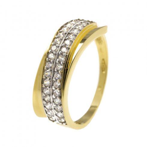 14K Arany Gyűrű (Au52043) Méret: 56.5