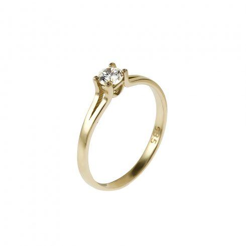 14K Arany Gyűrű (Au525010) Méret: 56