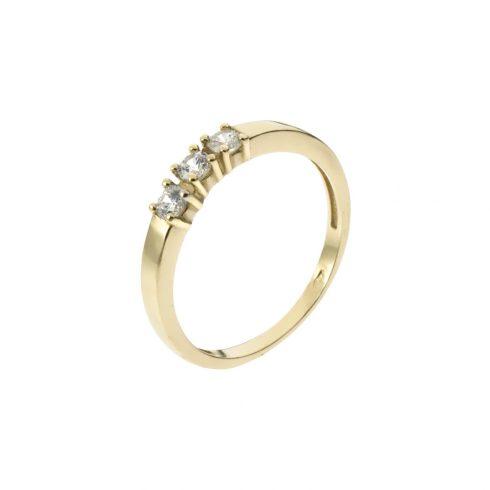 14K Arany Gyűrű (Au525013) Méret: 54