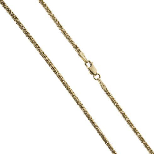 14K Arany Nyaklánc (Au525050) Méret: 50 cm