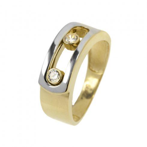 14K arany Gyűrű (Au52757) Méret: 52