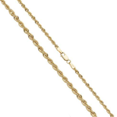 14K Arany Nyaklánc (Au530001) Méret: 44 cm