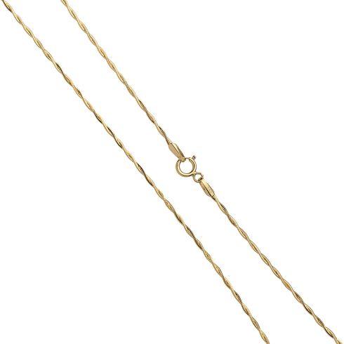 14K Arany Nyaklánc (Au530004) Méret: 42 cm