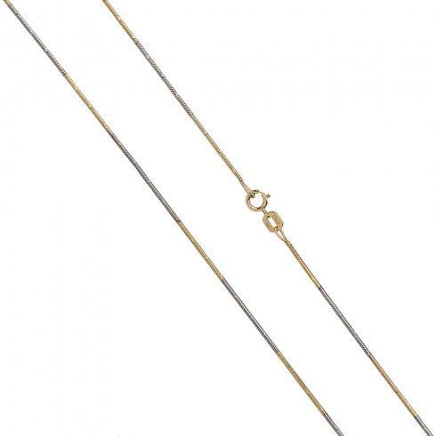 14K Arany Nyaklánc (Au530007) Méret: 44 cm
