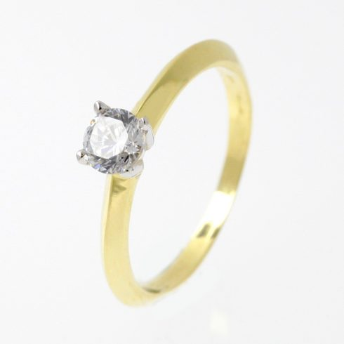 14K Arany Gyűrű (Au53211) Méret: 51,5
