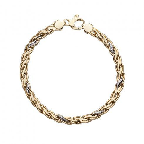 Arany karlánc (Au534005) Méret: 18 cm