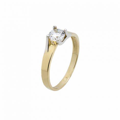 14K Arany Gyűrű (Au535006) Méret: 57