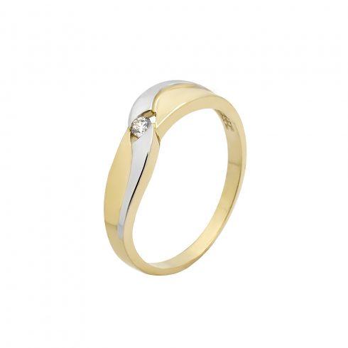 Arany Gyűrű (Au535020) Méret: 61