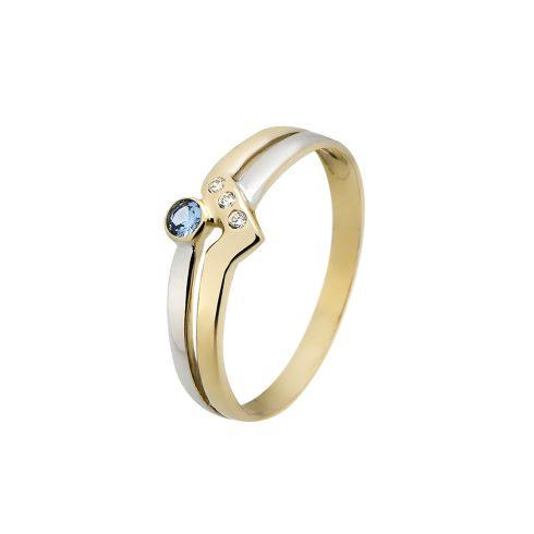 Arany Gyűrű (Au535030) Méret: 64