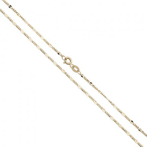 14K Arany Nyaklánc (Au537017) Méret: 55 cm