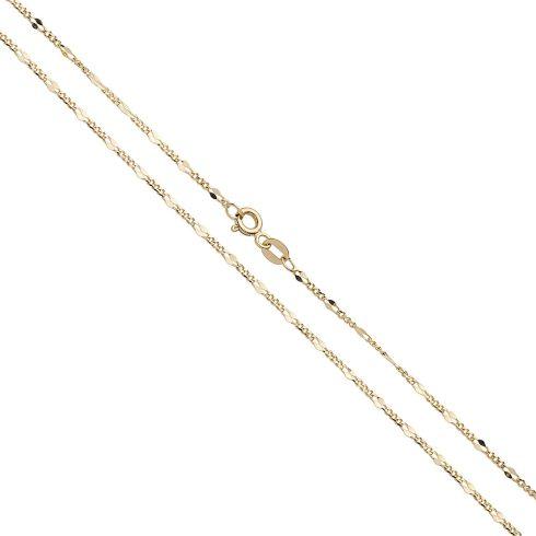 14K Arany Nyaklánc (Au537018) Méret: 55 cm