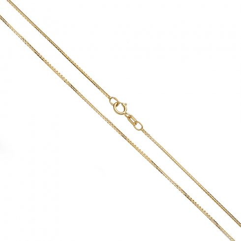 14K Arany Nyaklánc (Au537022) Méret: 50 cm