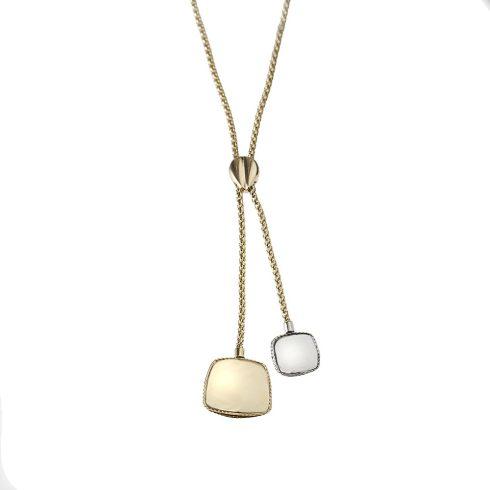 14K Arany Lánc Medállal (Au537039) Méret: 44 cm