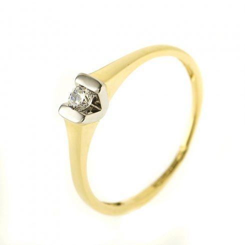14K Arany Gyűrű (Au54527) Méret: 51