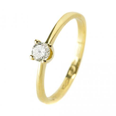 14K Arany Gyűrű (Au54528) Méret: 51