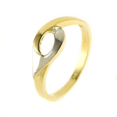14K Arany Gyűrű (Au54529) Méret: 51