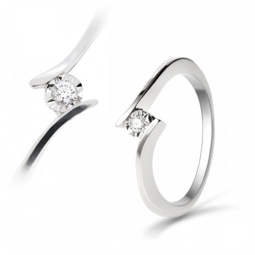 Arany Gyűrű BRILLEL (Au547003) Méret: 54