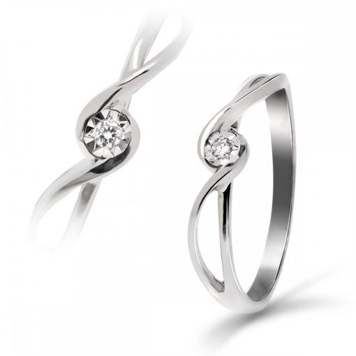 Arany Gyűrű BRILLEL (Au547005) Méret: 54