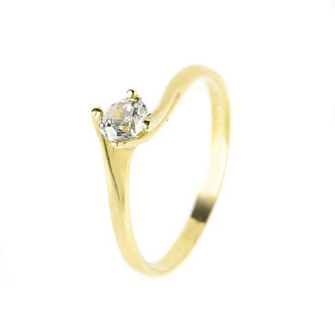 14K Arany Gyűrű (Au54998) Méret: 52,5