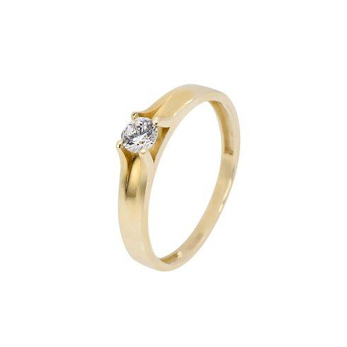 14K Arany Gyűrű (Au553023) Méret: 53