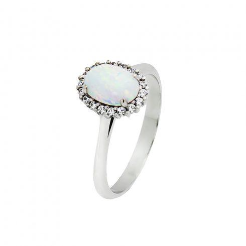14K Arany Gyűrű (Au553029) Méret: 55