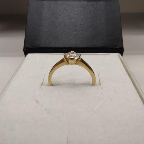 14K Arany Gyűrű (Au55386) Méret: 52