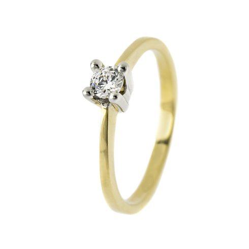 14K Arany Gyűrű (Au55506) Méret: 51