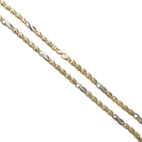 14K Arany Nyaklánc (Au558001) Méret: 45 cm
