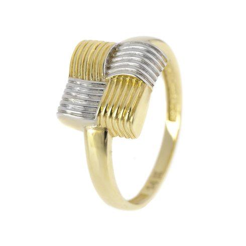 14K Arany Gyűrű (Au55996) Méret: 54,5