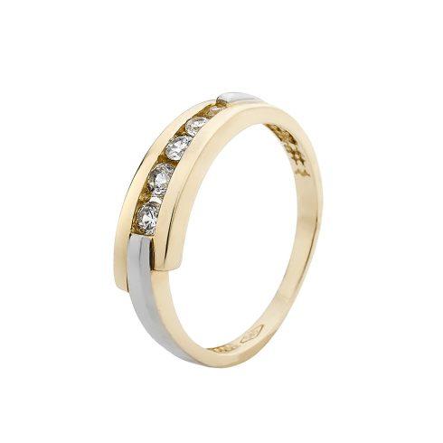 14K Arany Gyűrű (Au561013) Méret: 54