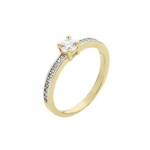 14K Arany Gyűrű (Au51016) Méret: 52