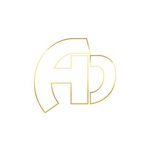 14K Arany M-betűs medál (Au563030)