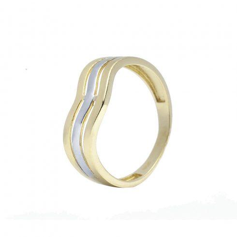 14K Arany Gyűrű (Au57003) Méret: 54