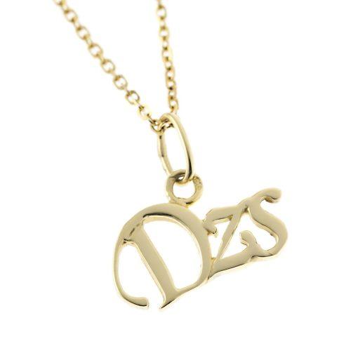 Arany Dzs-betűs medál (Au57049)