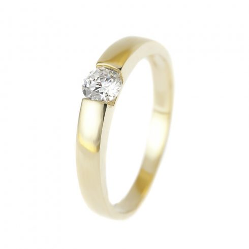 14K Arany Gyűrű (Au57101) Méret: 55