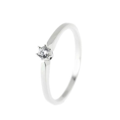 14K Arany Gyűrű (Au57112) Méret: 56,5