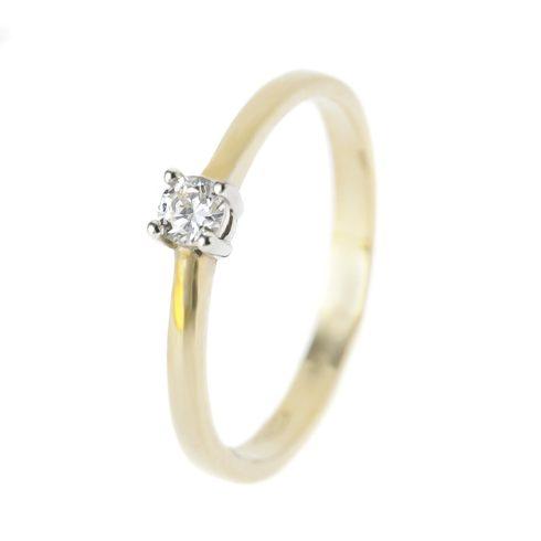 14K Arany Gyűrű (Au57168) Méret: 50