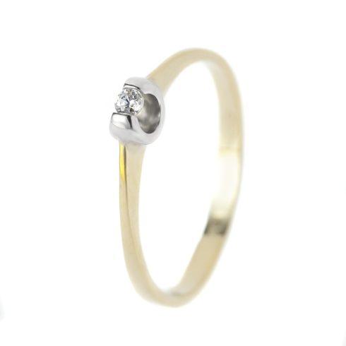 14K Arany Gyűrű (Au57169) Méret: 51