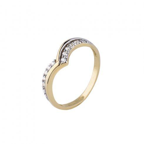 Arany Gyűrű (Au572043) Méret: 55