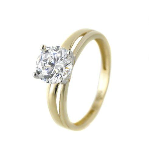 14K Arany Gyűrű (Au57592) Méret: 52