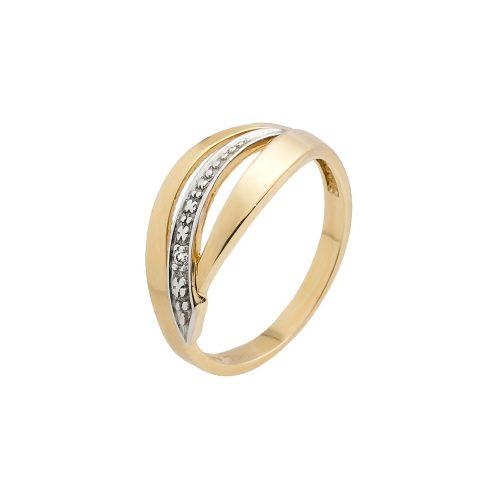 14K Arany Gyűrű (Au57890) Méret: 51