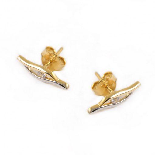 Arany Fülbevaló (Au579010) méret nélküli