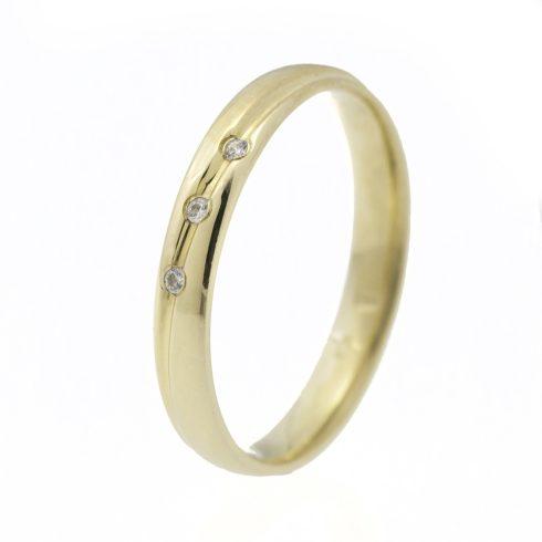 Arany Karikagyűrű (Au58150) Méret: 56