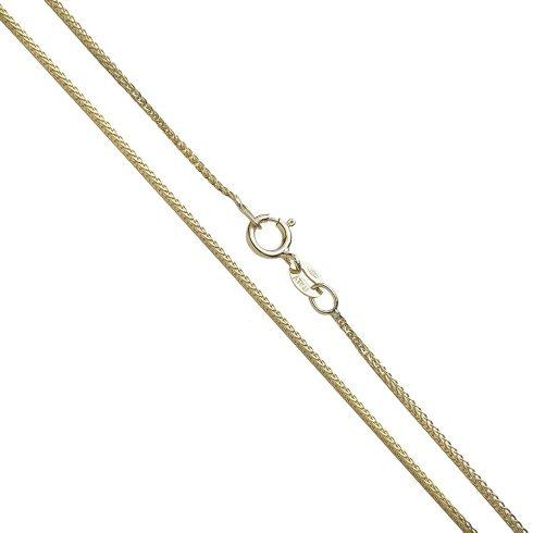 14K Arany Nyaklánc (Au58325) Méret: 45,5 cm