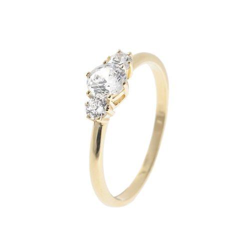 14K Arany Gyűrű (Au58572) Méret: 54,5