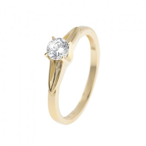 14K Arany Gyűrű (Au58585) Méret: 54.5